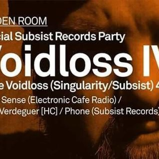 Phone@ Miniclub   Subsist Records Party (30.1.15)