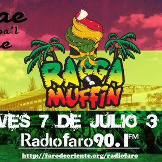 Reggae pa´l Oriente programa transmitido el día 7 de Julio 2016 por Radio Faro 90.1 FM