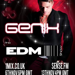 055 The EDM Show with Alan Banks & guest Genix