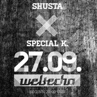 Bass 'Em (Special K & Shusta) - Weltecho Warm-Up