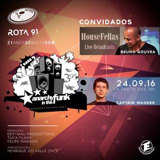Rota 91 - 24/09/2016 - convidado - Captain Wander + Bruno Gouvea