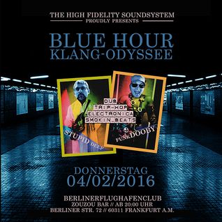 BLUE HOUR - Klang Odyssee, Live at BerlinerFlughafenKlub (04.02.2016) - Part 1