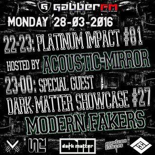 The Antemyst - Platinum Impact 81 (Gabber.fm) 28-03-2016