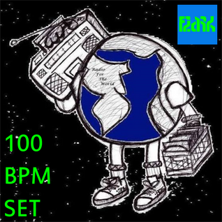 100 BPM Set (Electronic, Hiphop, Glitchhop) @ Radio For The World