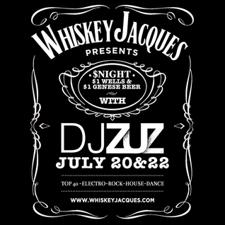 DJ Zuz Live From Whiskey Jacques 7-22-14