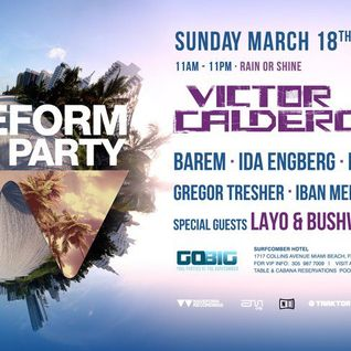 Layo & Bushwacka - live Waveform with Victor Calderone at The Surfcomber, WMC 2012 (18-03-2012)