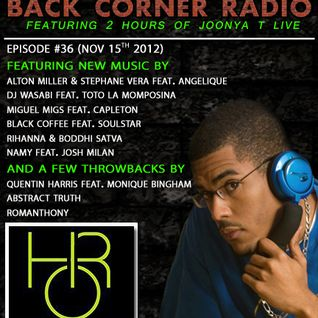 BACK CORNER RADIO: Episode #36 (Nov 15th 2012)