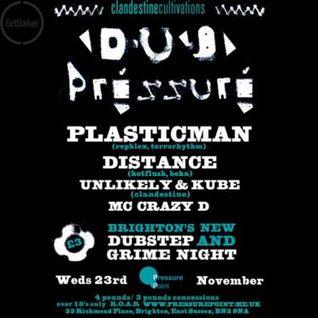Distance – Dubpressure Live – 23/11/2005