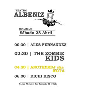 aNotherdj Nota@Albeniz(la Real) 28/04/12