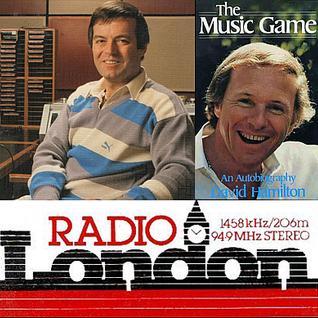 David Hamilton as a guest on Tony Blackburn's Morning Soul Show on BBC Radio London