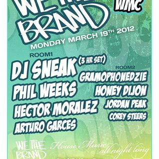 Phil Weeks - Live @ We The Brand, Treehouse, WMC (19-03-2012)