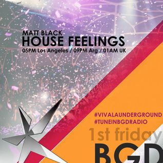Matt Black House Feelings September Mix