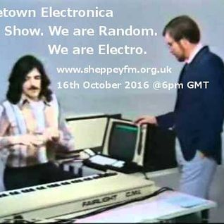 Bluetown Electronica Live show 16.10.16