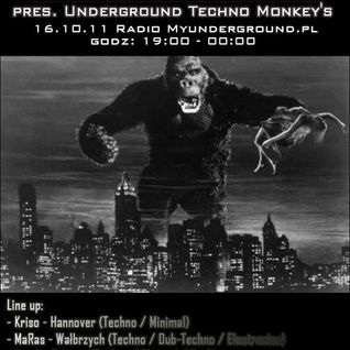 Freak - Sound Research pres. Underground Techno Monkey's @ Myunderground.pl Radio Show