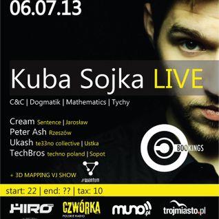Peter Ash - Live on Summer Techno City Sopot 6.07.2013
