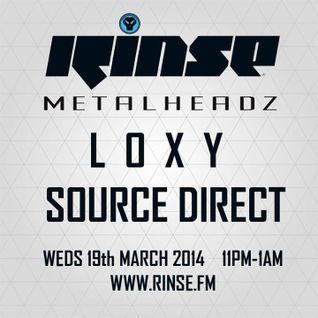 Loxy [Cylon Recordings] & Source Direct [Science] - Metalheadz Show on Rinse FM_London_03.19.14