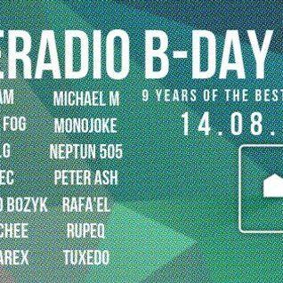 Houseradio B-Day Bash Monojoke Guestmix 14.08.2015