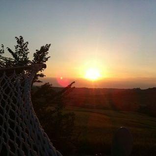 Zen does not mean chill (sunset in Pienza)