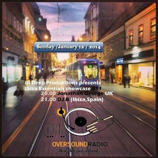 DJ B IBIZA'S ESSENTIALS JANUARY PROMO MIX TO OVERSOUND RADIO