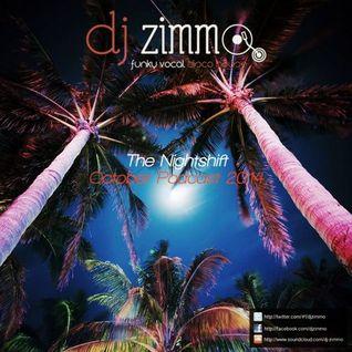 The Nightshift (DJ Zimmo Mix Oct 2014)