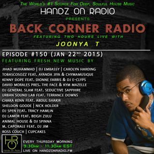 BACK CORNER RADIO: Episode #150 (Jan 22nd 2015)