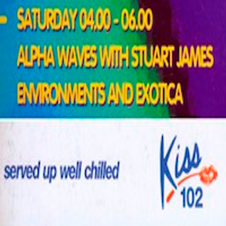 Alpha Waves ( Kiss 102 Manchester ) Ep001, Part 1, 22 0ct 1994.