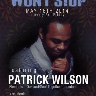 Patrick Wilson Live @ CSWS 5-16-2014