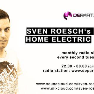 SVEN ROESCH's HOME ELECTRIC - SVEN ROESCH & GANDALF GOVINDA - 06-11-2012