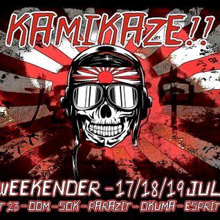 Stefan ZMK @ SOK PDK DDM Exit23 @ Kamikaze FR 2015 [rave|acid|tekno|industrial|hardcore|mental]