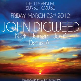 Nick Warren (Hope Recordings) @ 11th Annual Sunset Cruise - WMC 2012, Lady Windridge Yacht (23.03.)