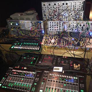 Hataken - 3 hours modular synthsizer Live @ Brilliant Takamatsu 05012015