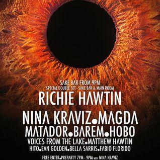 Richie Hawtin - Live @ Enter.Sake Week 07 (Space, Ibiza) - 14.08.2014
