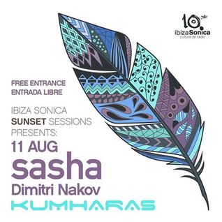 Sasha and Dimitri Nakov - Live at Kumharas, Sunset Sessions, Ibiza (11-08-2016)