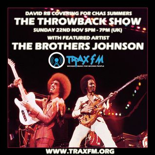 Trax FM (Sunday 22-11-2015) The Throwback Show with David RB