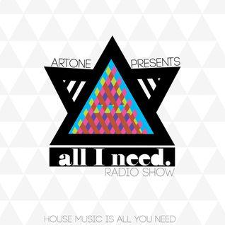 Artone pres. All I Need Radio Show - EP27