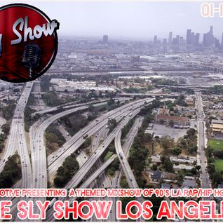 LOS ANGELES RAP / HIP-HOP MIXSHOW! 2PAC! ICE CUBE! DPG + MORE!! [TheSlyShow.com]