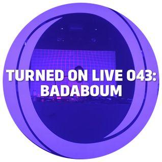 Turned On Live 043: Monologues @ Badaboum, Paris