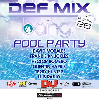 Frankie Knuckles - Live at Def Mix Pool Party, Shelborne Hotel, WMC 2012 (17-03-2012)