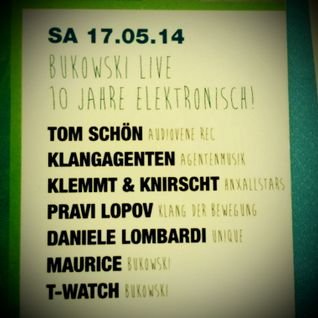Tom Schön - 10 Years Bukowski 17-05-2014 in Heilbronn
