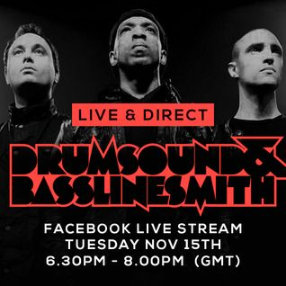 Drumsound & Bassline Smith - Live & Direct #12  [15-11-16]