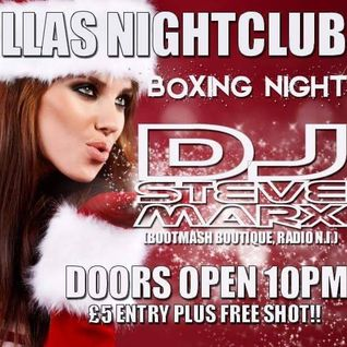 STEVE MARX RECORDED LIVE @ VILLAS NIGHTCLUB, BOXING NIGHT 2015