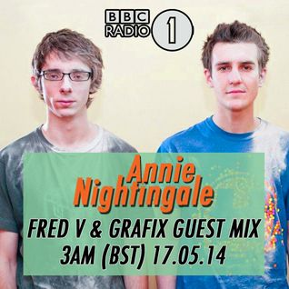 Fred V & Grafix (Hospital Records) @ Annie Nightingale Show, BBC Radio 1 (17.05.2014)