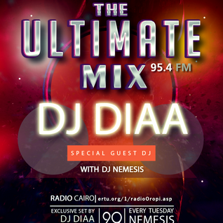 Nemesis - The Ultimate Mix Radio Show (036) 29/09/2015 (Guest DJ Diaa)