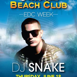DJ Snake - Live @ Encore Beach Club (Las Vegas) - 19.06.2015