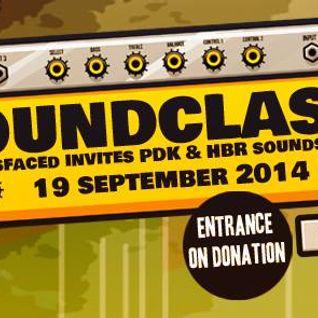 Stefan ZMK @ Soundclash- Bassfaced invites PDK & HBR 2014 [acid tekno hardcore]