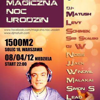 Magiczna Noc Urodzin 2012 / Matush live @ 1500 m2 / Warszawa / Poland