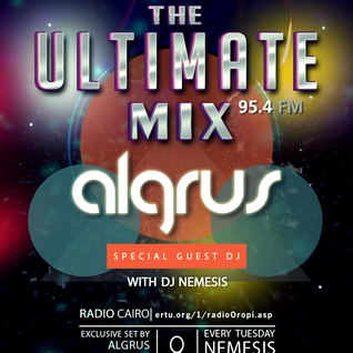 Nemesis - The Ultimate Mix Radio Show (055) 09/02/2016 (Guest Algrus)