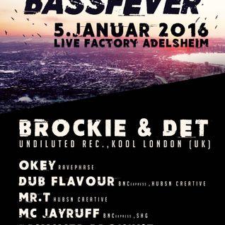 BROCKIE and DET @Bass Fever #6, 05.01.16  (Live Factory, Adelsheim GER)