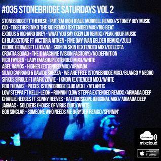 #035 StoneBridge Saturdays Vol 2