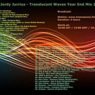 Jordy Jurrius - Translucent Waves Year End Mix 2011 (December 31 2011)
